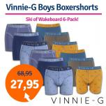 Dagaanbieding Vinnie-G Boys Boxershorts 6-pack