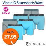 Dagaanbieding Vinnie-G boxershorts Wave 6-Pack
