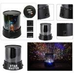 Projector Night Light sterrenhemel