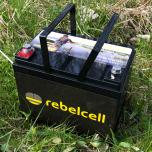 Rebelcell 12V50 Angling Classic Accu (zonder display) + Charger
